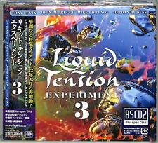 LIQUID TENSION EXPERIMENT 3 JAPAN 2021 2CD BSCD2 - BRAND NEW - DREAM THEATER
