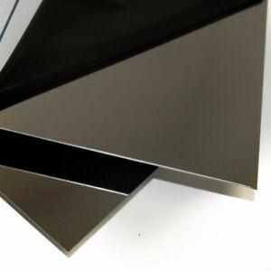 Edelstahl Spiegel 500 mm  Blech Edelstahlblech 0,8 mm MAGNETISCH