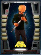 Topps Star Wars Card Trader Digital 2020 Vader Black Base Figrin D'an Tier 7