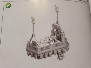 Adepta Sororitas,  Triumph of Saint Katherine,casket of the saint.