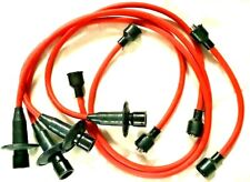 VW T1 BEETLE T2 CAMPER RED IGNITION LEAD SET HT LEADS SET OF 5 LEADS
