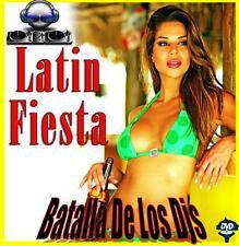 Batalla De Los Djs - FIESTA MIX - Salsa/Merengue/Bachata Videomix + Gift