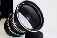 RARE ZEBRA CARL ZEISS JENA FLEKTOGON 50mm f/4 Wide Angle Pentacon SIX mount