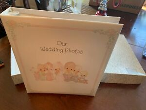 VTG 1992 Hallmark Precious Moments Photo Album Our Wedding Photos WCA 220-2 NOS