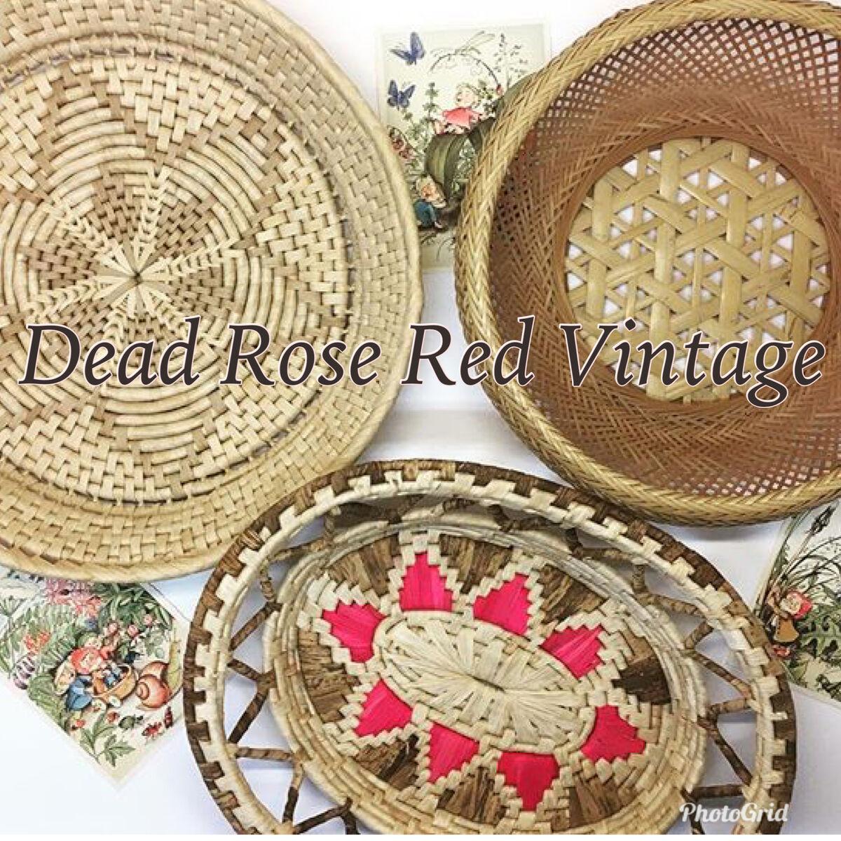 Dead Rose Red Vintage