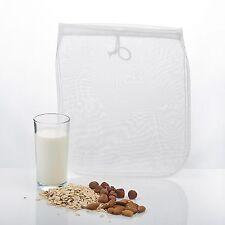 Nussmilchbeutel XL für vegane Milchalternativen Passiertuch Durchseih Beutel