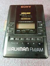 Sony Walkman Wm-Af65 Fm/Am AutoReverse Cassette Player #3298