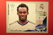 PANINI CHAMPIONS LEAGUE 2012/13 N. 238 ESSIEN REAL MADRID BLACK BACK MINT!
