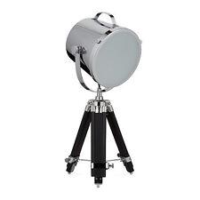 Relaxdays Tischlampe Scheinwerfer Form Tripod Lampe mit Stativ Foto-studio