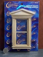 Dollhouse Miniature Victorian Window B 1:12 one inch scale K5 Dollys Gallery