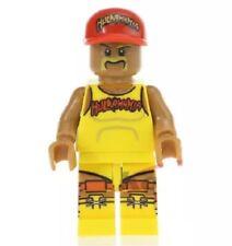 Hulk Hogan Hulkster Minifigur Lego Kompatibel Hulkamania WWF WCW WWE NWO