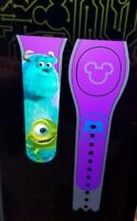 Disney MONSTERS INC PURPLE Magic Band 2.0 Magicband Parks New Mike Sulley