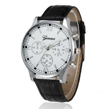 Military Army Quartz Wrist Watch Fashion Men's Leather Strap Sport waterproof