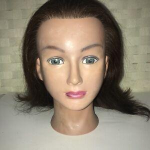 Vintage Marianna Cosmetology Practice Mannequin Head Miss Barbara 14115