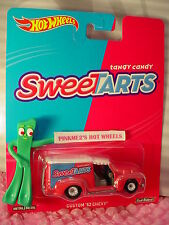 2016 Wonka Hot Wheels Custom '52 Chevy☆pink;Sweetarts☆ Real Riders☆Pop Culture