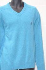 Unifarbene Herren-Pullover & -Strickware mit V-Ausschnitt in Größe 2XL