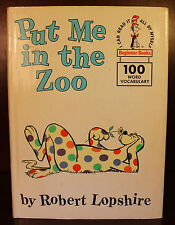 Robert Lopshire Put Me in the Zoo 1960 First Edition 1st Printing Children's