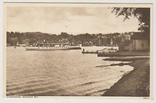 Cumbria postcard - Windermere, Bowness Bay