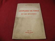 Léonard de Vinci et ses Mystères Khérumian 1952