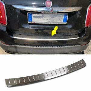 Fit For Fiat 500X 2016-2018 Rear Outside Bumper Protection Guard Cover Trim