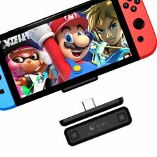 Ultra Light Wireless Bluetooth for Nintendo Switch Audio Tranceiver Adapter