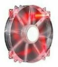 Cooler Master MegaFlow 200 Sleeve Bearing 200mm Red LED Silent PC Case Fan