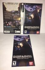 Ghost In The Shell Stand Alone Complex PSP Original Replacement Artwork & Manual