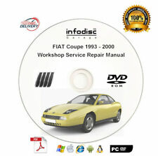 2017 FIAT  Coupe 4C//4C Spider Service Shop Workshop Repair Manual CD NEW