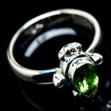 Peridot 925 Sterling Silver Ring Size 7.25 Ana Co Jewelry R23351
