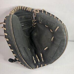 Mizuno GXC94T Catchers Glove Mitt Premiere Pro Pro Scoop Leather Dark Brown