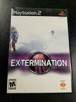 Extermination PS2 (Sony PlayStation 2, 2001) - Complete In Box, Tested- Working