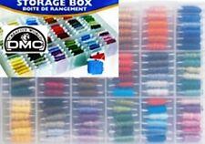 DMC Organizer Boxen ohne Stickgarn mit 50 Cardbobbins incl.
