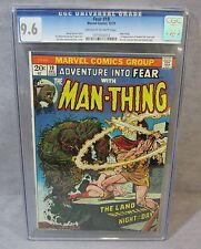 Adventure Into FEAR #19 (Howard the Duck 1st app) CGC 9.6 NM+ Marvel Comics 1973