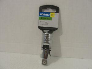 Kobalt 1/2-Inch Drive Universal Joint Socket Adapter  NEW