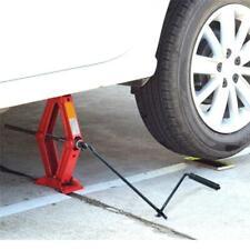 Folding Steel Car Scissor Jack Crank Lever Handle Lift Post Garage Tool JA