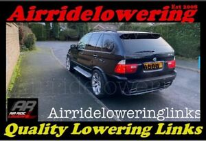 BMW X5 Series Fully Adjustable Air Suspension Lowering Links REAR ONLY (2 Links)