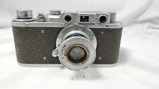 Russian FED NKVD KGB USSR plant #143132 35mm Camera w/FED 50mm f3.5 Lens