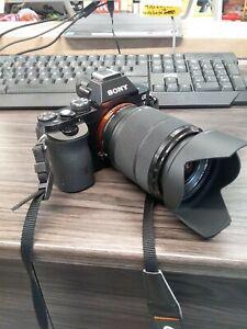 Sony Alpha A7 24.3MP Digital Camera -with Sony Fe3.5-5.6/28-70 lenses
