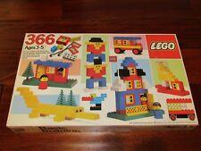 RARE Vintage Lego set 366 1983 BRAND NEW SEALED BOX MADE IN DENMARK