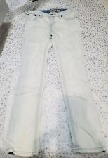 NWOT Ralph Lauren White Wash Jeans Girls Bowery Skinny Size 7 MSRP $35