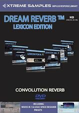XTREME samples Dream riverbero Lexicon HD EDITION (Reverb impulsi response Library)