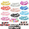 13pcs/set HAPPY BIRTHDAY Letters Foil Balloons Birthday Party Decoration 16inch