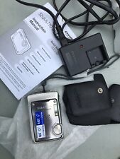Minty Olympus Waterproof Shockproof Digital Camera Silver Stylus 770 SW 7.1 MP
