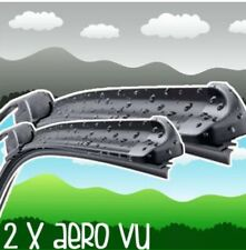 "Peugeot 307 2.0 26/28"" Aero VU Front Retro Wiper Blades Flat Window Upgrade"