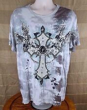PACO Men's Cross T-Shirt Size XL Authentic Trademark Short Sleeve 100% Cotton