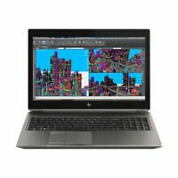HP ZBook 15 G5 Mobile Workstation i7-8850H 32GB 512GB SSD NVIDIA Quadro P1000