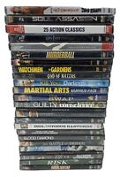 DVD's Lot of 25 Action Variety Total 25 Movies NEW FACTORY SEALED.