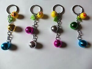 Emoji Theft  Alarm Bell Keyring Handbag Purse Bag Car Keyholder Ring Chain Gift