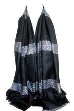 Sciarpe, foulard e scialli da donna neri senza marca fantasia pois
