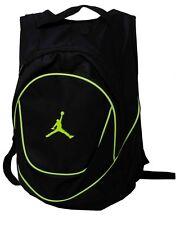 NWT NIKE JORDAN Vlot Jumpman Backpack Black Logo Laptop Book Bag  9A1118-982